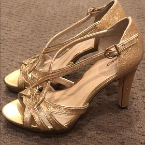 Style & Co Shoes - Gorgeous gold heels